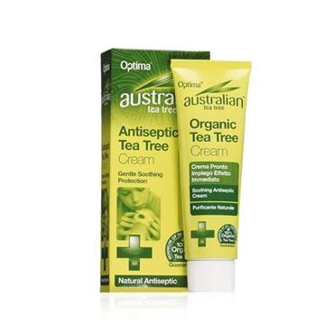 Optima Australian Organic Tea Tree Antiseptic Cream 50ml