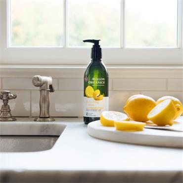 Avalon Organics Refreshing Lemon Liquid Soap 355ml