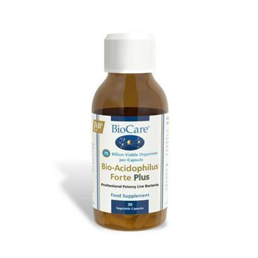 Biocare Acidophilus Forte Plus 30 Capsules
