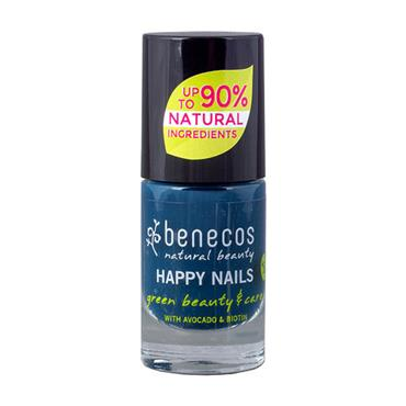 Benecos Nordic Blue Nail Polish 5ml