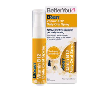 BetterYou Boost Vitamin B12 Oral Spray 25ml