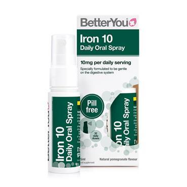 Better you Iron Spray 10mg