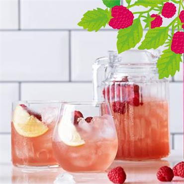 Belvoir Raspberry Lemonade Can 250ml