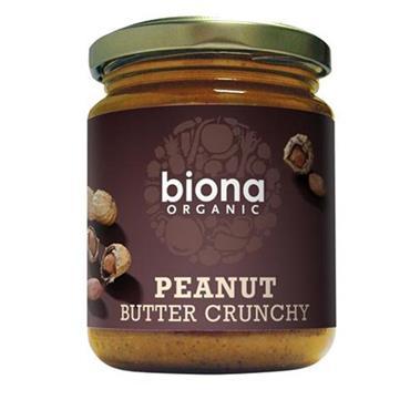Biona Organic Crunchy Peanut Butter 250g