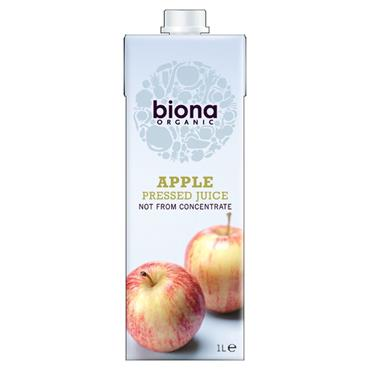 Biona Organic Pressed Apple Juice 1ltr
