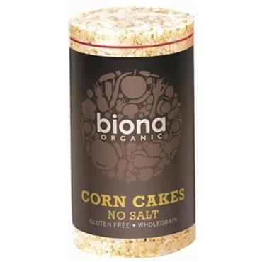 Biona Organic Corn Cakes (salt free) 100g