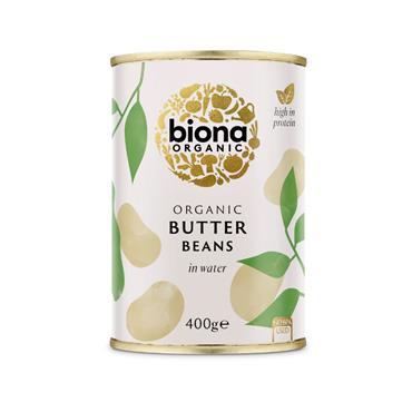 Biona Organic Butter Beans 400g