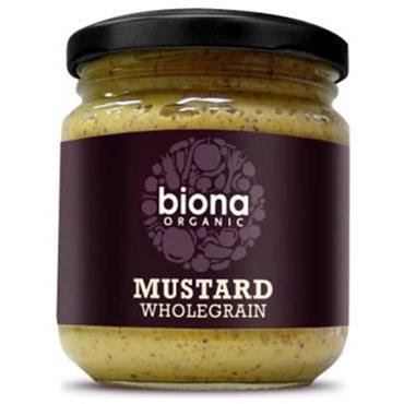 Biona Organic Wholegrain Mustard 200g