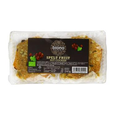 Biona Organic Spelt Fruit Cookies 240g