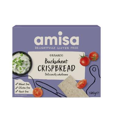 AMISA Gluten free BUCKWHEAT CRISPBREAD 120g