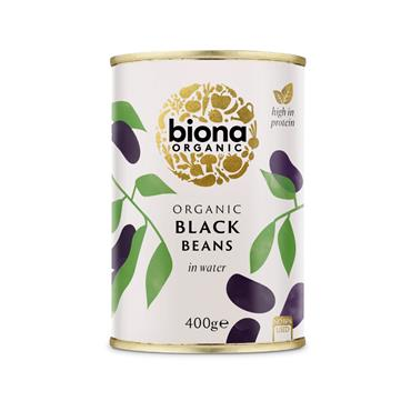 Biona Organic Black Beans 400g