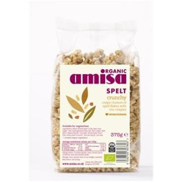 Amisa Organic Crunchy Spelt 375g