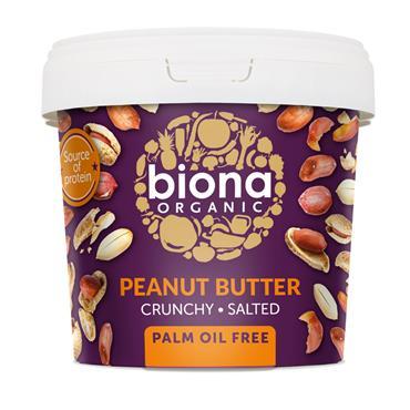 Biona Crunchy Peanut Butter 1kg