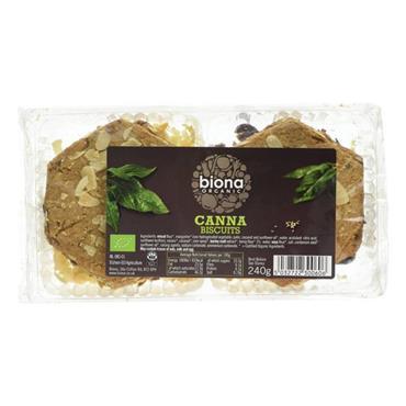 Biona Organic Canna Biscuits 240g