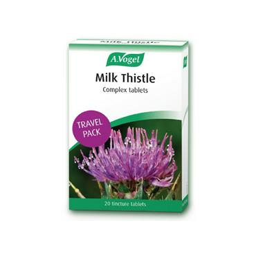 A. Vogel Milk Thistle Complex 20 Tablets Travel Pack