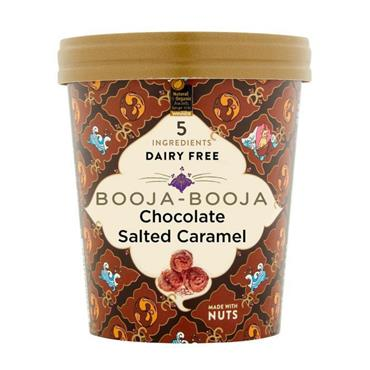 Booja-Booja Chocolate Salted Caramel Ice Cream 500ml