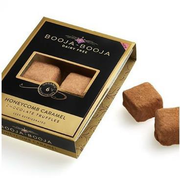 Booja-Booja Organic Honeycomb Caramel Chocolate Truffles - 6 truffles 69g