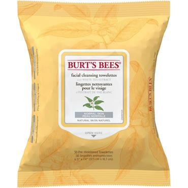 Burt's Bees Facial Cleansing Wipes 30s