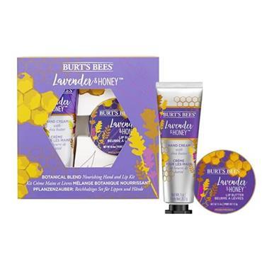 Burt's Bees Xmas Lavender Lip & Hand Gift