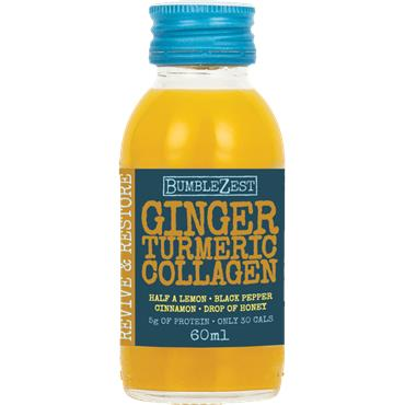 Bumblezest Revive & Restore 60ml - Ginger, Turmeric & Collagen
