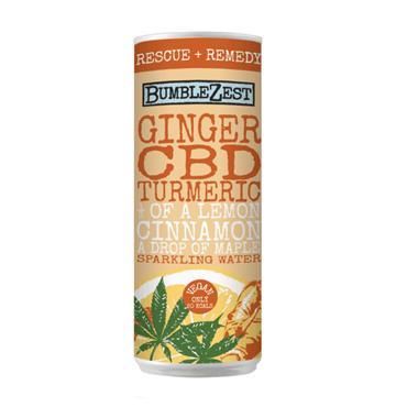 Bumblezest Ginger, Turmeric & CBD Sparkling Water 250ml