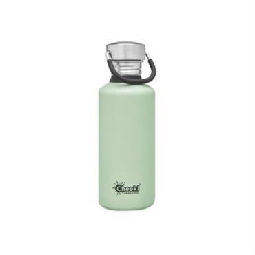 Cheeki Classic Single Wall Pistachio Bottle 500ml
