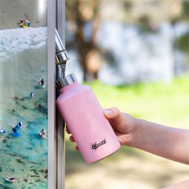 Cheeki Classic Single Wall Pink Bottle 500ml