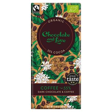 Coffee 55% Chocolate 80g