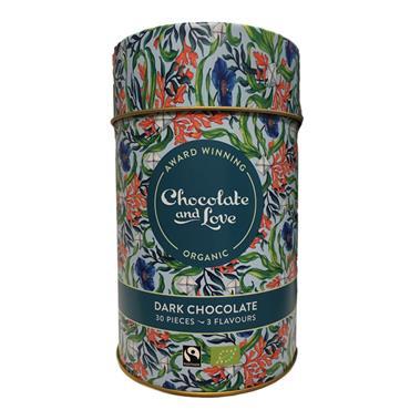 Chocolate & Love Sea Salt Tin