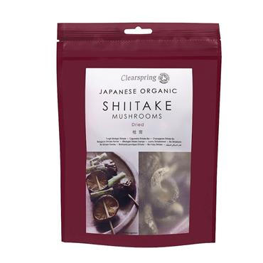 Clearspring Shiitake Mushrooms 40g
