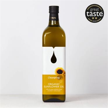 Clearspring Organic Sunflower Oil 500ml