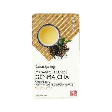 Clearspring Organic Japanese Genmaicha Teabags 20 Tea Bags