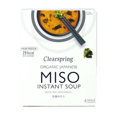 Clearspring Organic Instant Miso Soup 4x10g