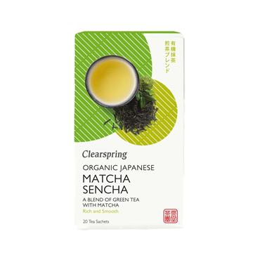 Clearspring Organic Matcha Green Tea - 20 Tea Bags