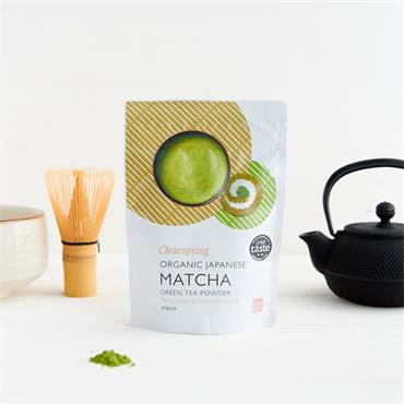 Clearspring Organic Matcha Green Tea Pouch 40g