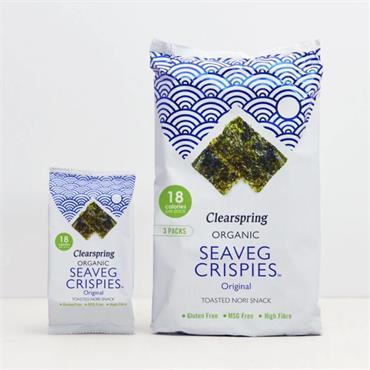 Clearspring Seaveg Crispies Multipack 3x5g