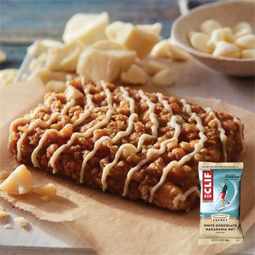 Clif Bar Energy Bar White Chocolate Macadamia 68g
