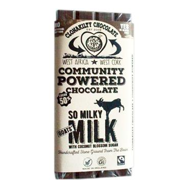 Clonakilty Chocolate Milky Milk Goat's Milk 60g