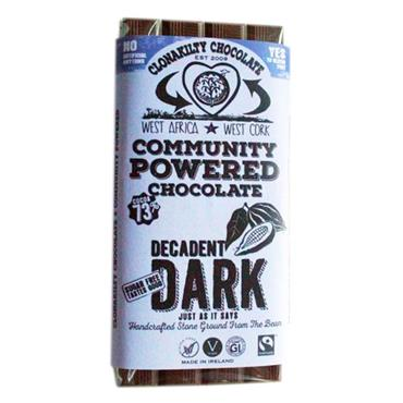 Clonakilty Chocolate Decadent Dark 60g