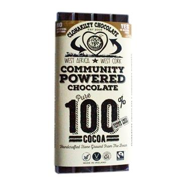Clonakilty Chocolate 100% Pure Cocoa 60g