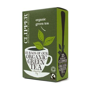 Clipper Organic Green Tea 20 tea bags