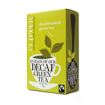 Clipper Decaf Green Tea 20 tea bags