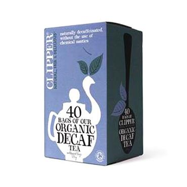 Clipper Organic Everyday Decaffeinated Tea 40 tea bags