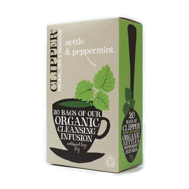 Clipper Organic Nettle and Peppermint Tea 20 bags