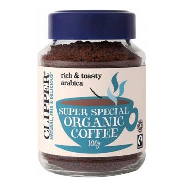 Clipper Organic Super Special Medium Roast Coffee 100g