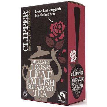 Clipper English Breakfast Loose Tea 125G