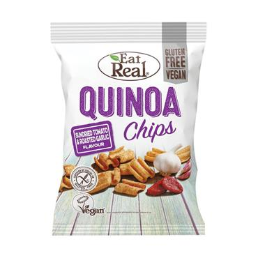 Eat Real Quinoa Chips Tomato & Garlic 30g