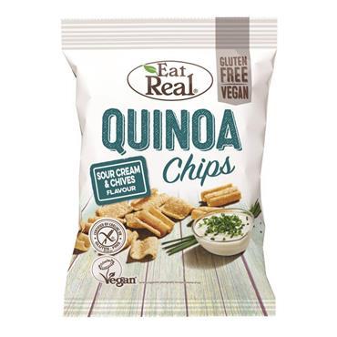 Eat Real Quinoa Sour Cream & Chive 30g