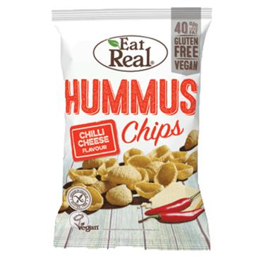 Eat Real Hummus Chilli Cheese 135g