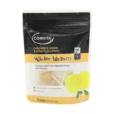 COMVITA Lemon Honey Lollies 10S